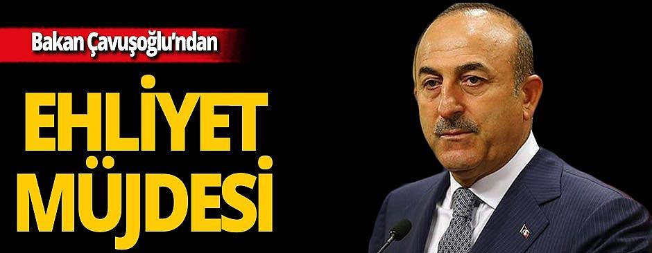 Çavuşoğlu'ndan yurt dışında yaşayan Türk vatandaşlarına ehliyet müjdesi!