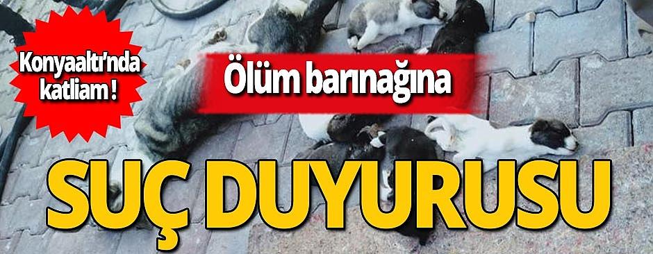 Konyaaltı Belediyesi'ne Barodan suç duyurusu!
