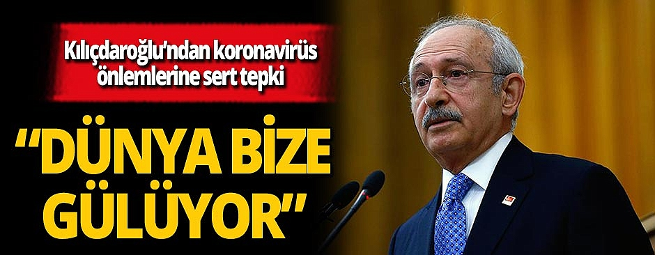 """CHP lideri Kemal Kılıçdaroğlu: """"Önlem böyle mi alınır?"""""""
