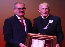 Antalya'da 'Devlet Övünç Madalyası ve Beratı'