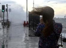 Batı Akdeniz'e fırtına uyarısı