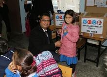 Çocuklar üşümesin projesi başladı