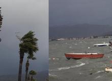 Fırtına hayatı olumsuz etkiledi
