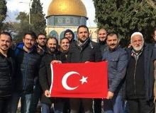 Kudüs'te 6 Türk vatandaşı gözaltına alındı
