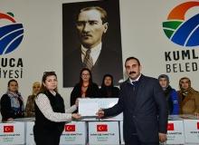 Kumlucalı kadınlardan Mehmetçik'e destek