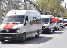 Antalya'da büyük destek