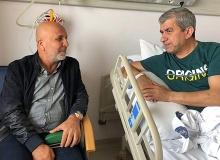 Başkan Çavuşoğlu'ndan Yeni'ye 'Geçmiş Olsun' Ziyareti