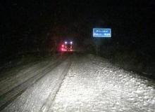 Kar ulaşımı olumsuz etkiliyor