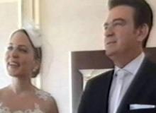 Usta sanatçı evlendi