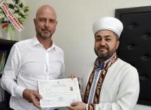 Alman turizmci Müslüman oldu