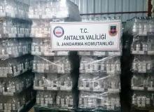 Antalya'da baskında ele geçirildi