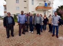 Antalya'da iki binanın sakinleri şaşkın