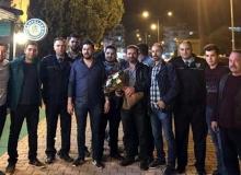 Antalya'da polisi böyle karşıladılar