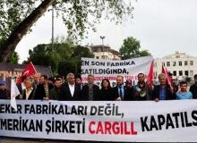 Antalya'da protesto edildi