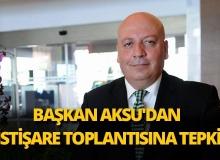 Başkan Aksu: Türk turizm politikalarının belirlenmesinde yok sayılıyoruz