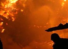 Karaoke salonunda yangın faciası