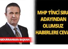 Abdurrahman Başkan'dan hakkında çıkan olumsuz haberlere cevap