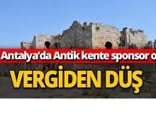 Antalya'da sponsor ol vergiden düş