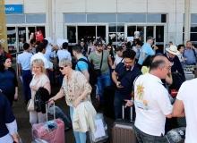 Turist sayısı yüzde 43,8 arttı