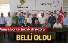 Alanyaspor'un teknik direktörü belli  oldu