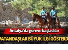 Antalya'da göreve başladılar