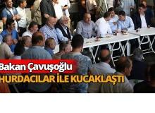 Bakan Mevlüt Çavuşoğlu Antalya'da sanayi esnafıyla buluştu