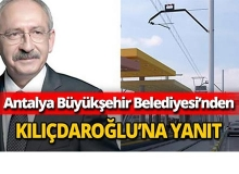 Büyükşehir'den Kılıçdaroğlu'nun iddialarına yanıt
