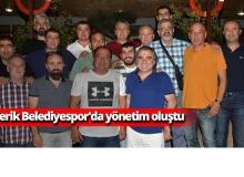 Serik Belediyespor'da yönetim oluştu