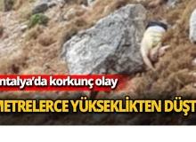 Surlardan kayalıklara düşüp hayatını kaybetti