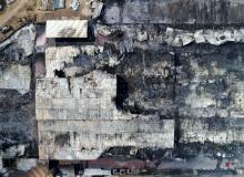 19 bin metrekarelik fabrika kül oldu