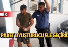 Antalya'da 15 paket uyuşturucuele geçirildi