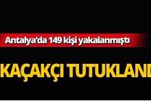 Antalya'da göçmen kaçakçıları tutuklandı