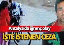 Antalya'da iğrenç olay