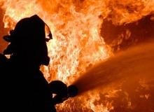 Antalya'da kafede yangın çıktı