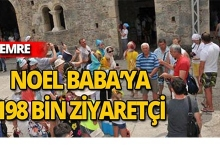 Antalya'da Noel Baba'ya 198 bin ziyaretçi