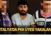 Antalya'da PKK üyesi yakalandı