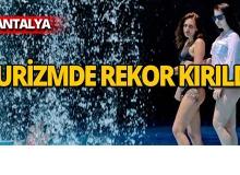 Antalya turizmde 6 milyon bandını geçti