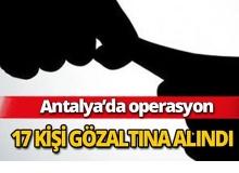 Antalya'da rüşvet operasyonu