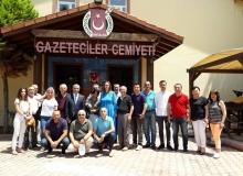 Azerbaycan Milletvekili Ganire Pashayeva'dan AGC'ye ziyaret