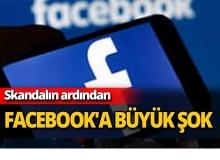 Facebook'a büyük şok