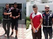 Hırsızlık için Antalya'ya gelmişler