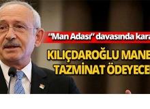 Kılıçdaroğlu manevi tazminat ödeyecek
