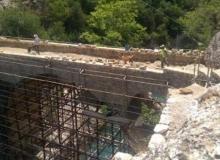 Tarihi köprüde restorasyon