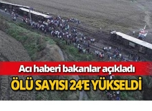 Türkiye'yi yasa boğan kazada ölü sayısı arttı