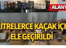 Alanya'da operasyon: 2 kişi gözaltına alındı