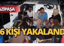 Antalya'da teknenin motoru arızalanınca yakalandılar