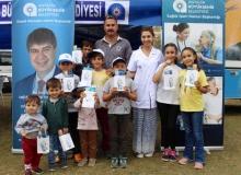 Büyükşehir Gazipaşa yaylalarında sağlık taraması yaptı