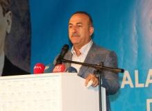 Çavuşoğlu, Antalya'da konuştu