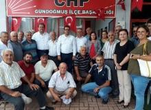 CHP Antalya milletvekilleri Gündoğmuş'ta bir araya geldi