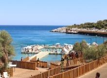 Finike'deki kadınlar plajı rekor kırıyor